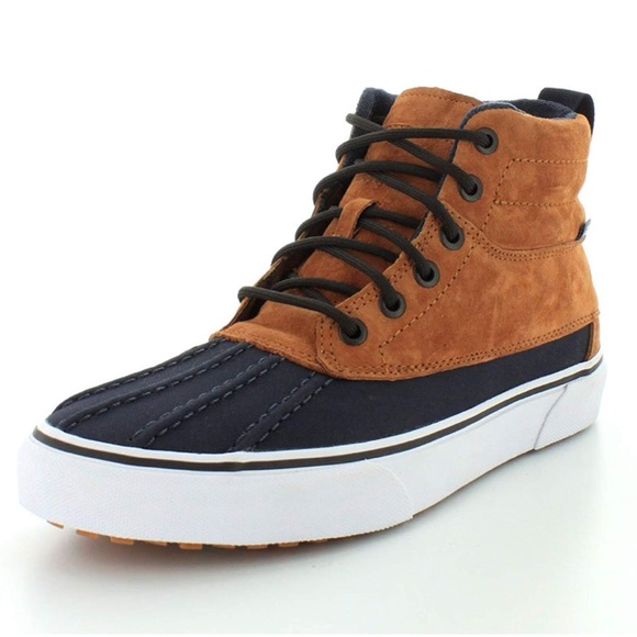 6d7d75ea4e Sk8-hi del pato MTE leather high-top skate shoe